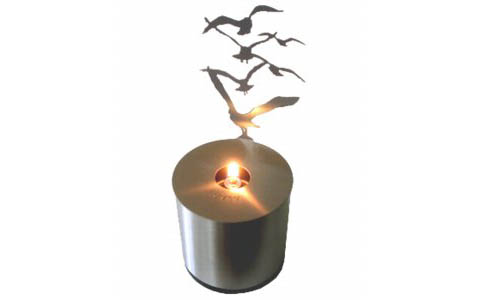 Lumen Oil Lamp, Flock