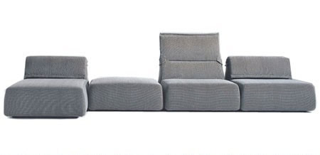 highlands seating system by patricia urquiola