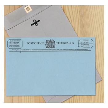 Telegram Stationery Set