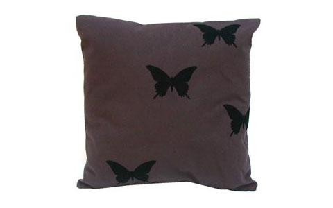 a fortes design : Eucalyptus Pillow (butterflies)