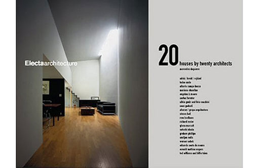 20 Houses by Twenty Architects (Electaarchitecture)