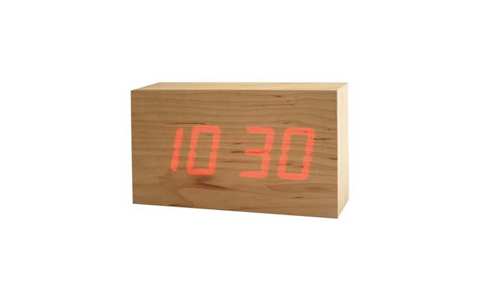 TO:CA wood LED clocks by kouji iwasaki