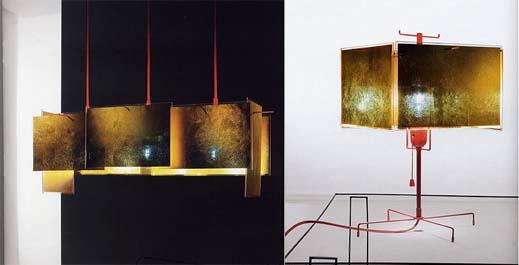 24 Karat Blau Lighting Series by Ingo Maurer