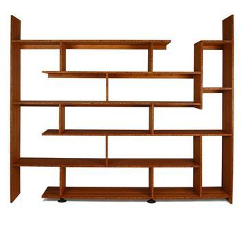 Bamboo Stagger Shelf