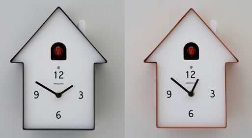 Birdhouse cuckoo clock