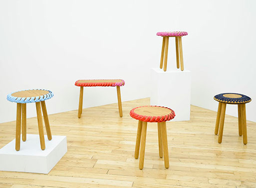 Braided Stools