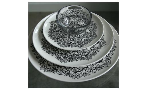 Fine Bone China Plates