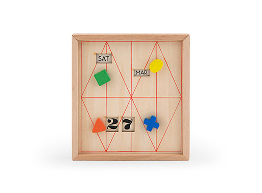 Calendar Stationery Box