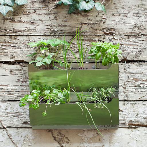 Cedar wide planter