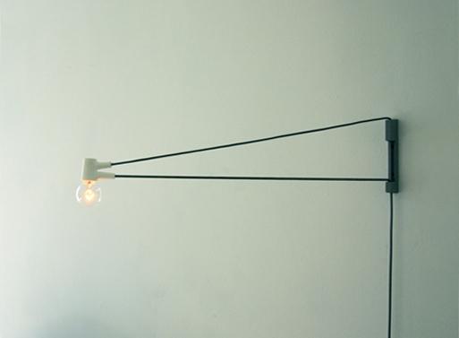Cord Lamp by Brendan Ravenhill