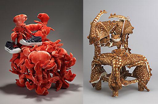 Crabes-Langoustes & Manta Ray Chair