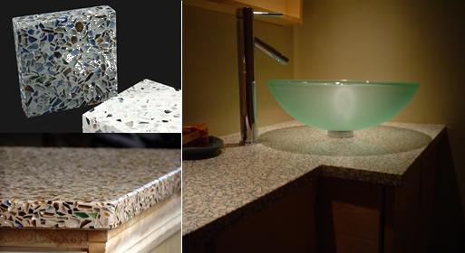 Recycled Glass Terrazzo