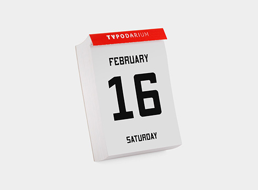 2013 365 Fonts Page-a-Day Calendar