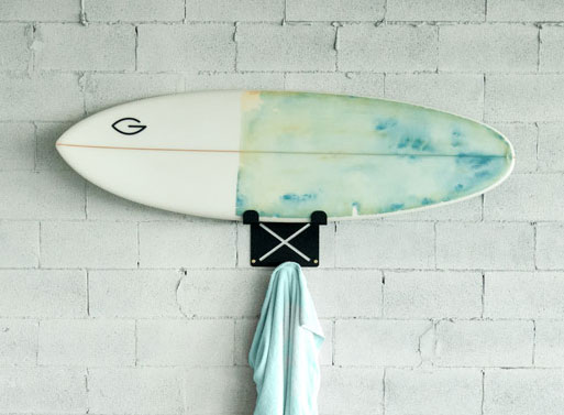 El Gringo Wall Mounted Surfboard Rack