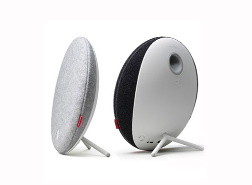 Libratone Loop Wireless Speaker back and side