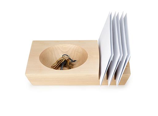 Mail Slot Bowl by Dan Sjogren