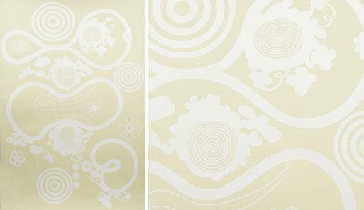 Nama Rococo Little Butterfly Loop Wallpaper