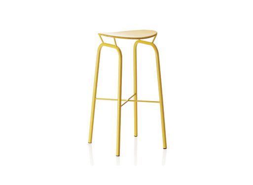 Nagasaki Stool Yellow