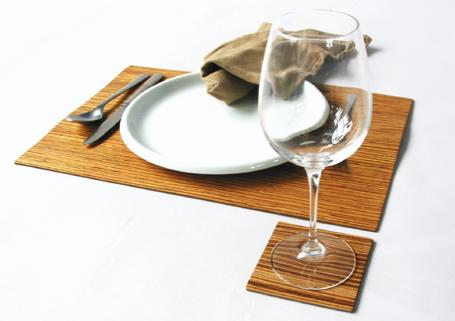 Publique Living Veneer Placemats & Coasters