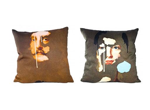 Chad Wys Portrait Cushions