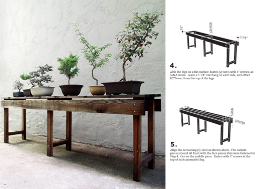 SR DIY Planting Table