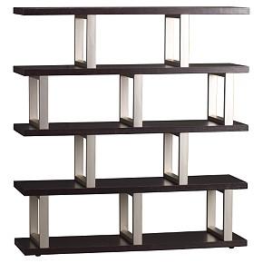 Scaffold 5-shelf Bookcase