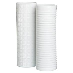 squares/ lines vases