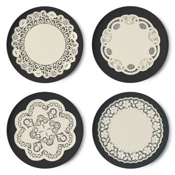 Gothic Dinner Plates (by Thomas Paul)
