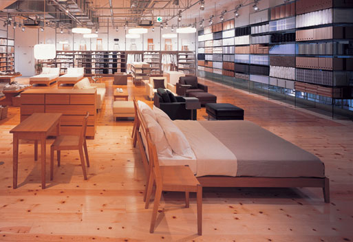 Muji Store opening in Soho November 16, 2007