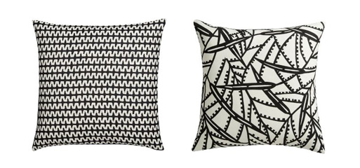 Zig Zag and Maize Pillow