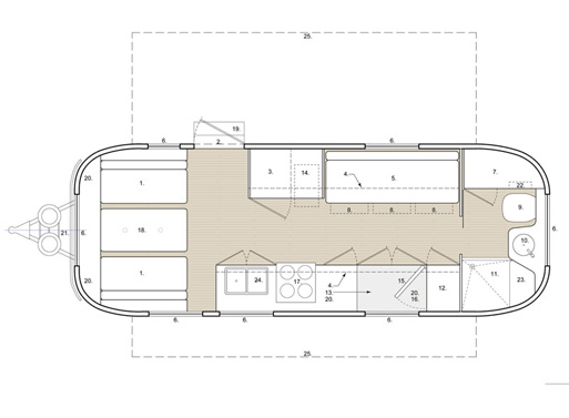 HofArc Airstream Renovation plan