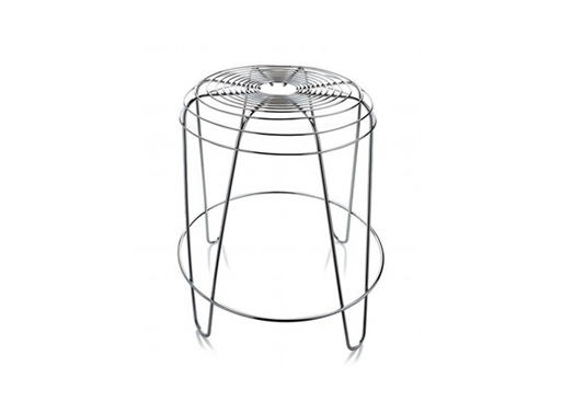 A Tempo Stool chrome