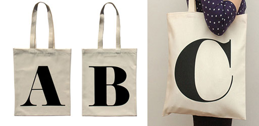 Alphabet Bags