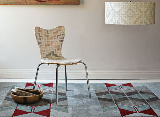Alyson Fox Chevron Rug
