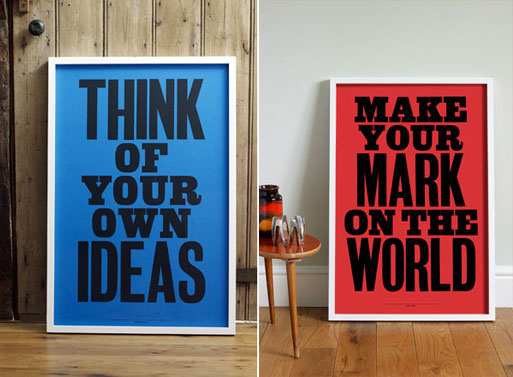 Anthony Burrill Posters Accessories Better Living