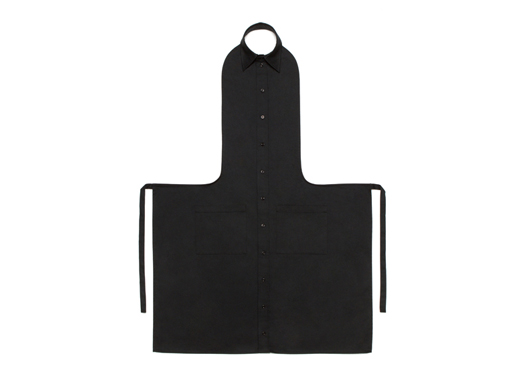 Apron Shirt collar