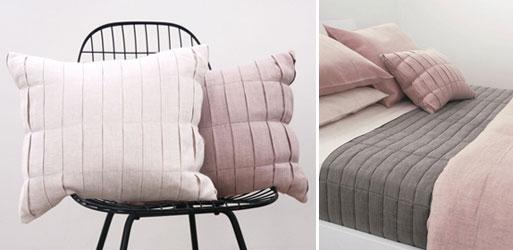 Area Fold Pillows (& Quilt)