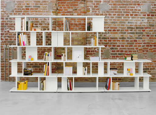 e15 Arie Shelving by Erik Levy