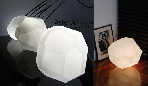 Innermost Asteroid Lamp