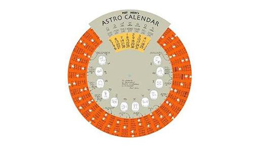 300 year Astro Calendar by Piet Hein