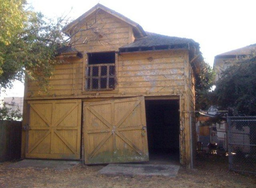 barn before renovation