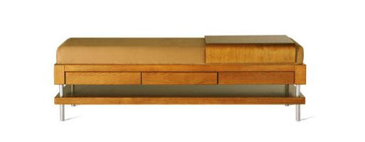 Bench With Moveable Tray