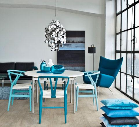 CH24 Wishbone Chair – Blue Series