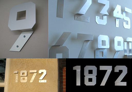 Andrew Byrom House Numbers