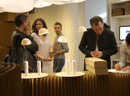 Capello Lamp in Milan