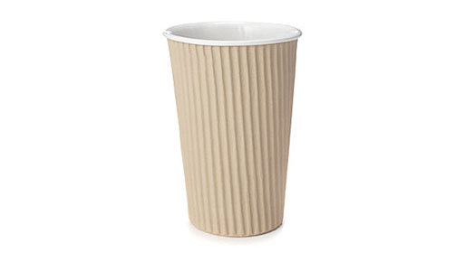 Cardboard Ceramic Cup