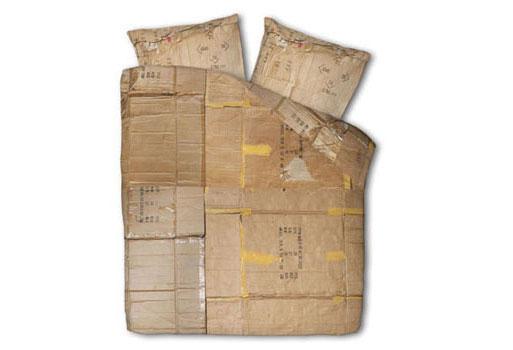 Le Clochard Home Cardboard Box Print Duvet