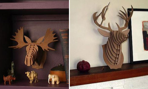 Cardboard Safari 3D Animal Puzzles