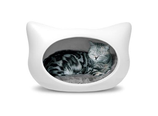 Cat Head Cat Bed