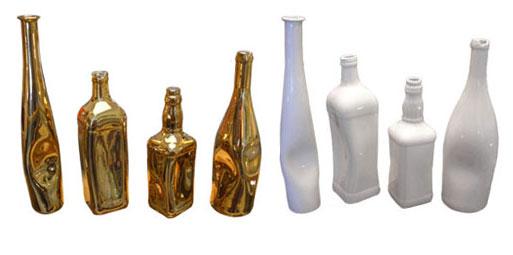 Ceramic Bottles by Eva Menz